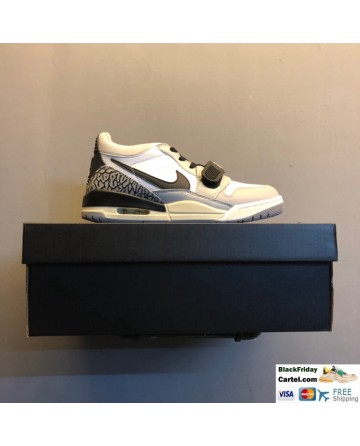 Nike Air Jordan Legacy 312 Low Men's Shoes White & Grey