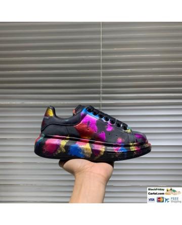 Alexander McQueen Color Printing Sneakers