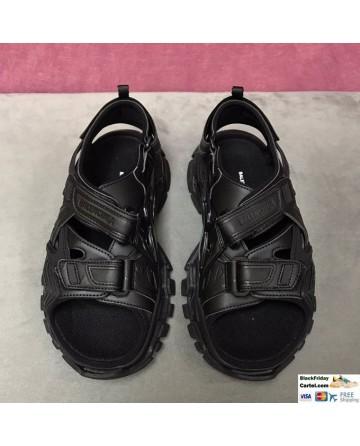 Balenciaga 2020 SS Black Sport Sandals Online