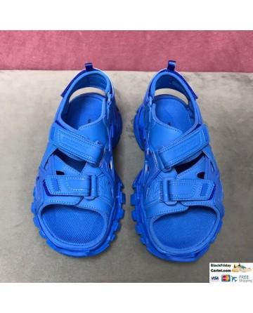 Balenciaga 2020 SS Blue Sport Sandals Online