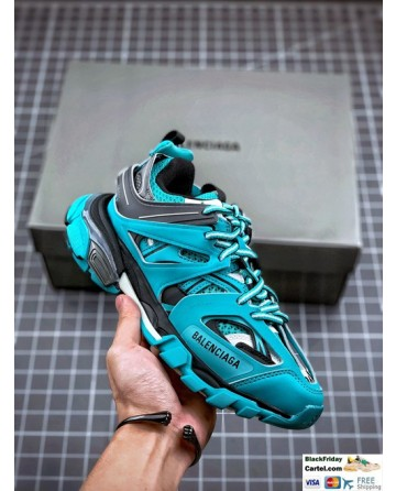 Balenciaga Sneaker Tess 3.0 Blue Sneakers No Light