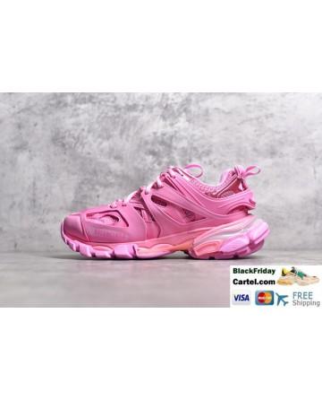 Balenciaga Track Led Pink Tess 3.0 LED Light Sneakers