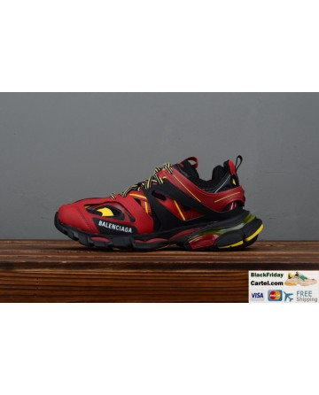 Balenciaga Track Trainers Tess.s.Gomma Red & Black