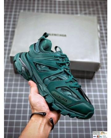 Balenciaga Track 3.0 Sneakers In Dark Green