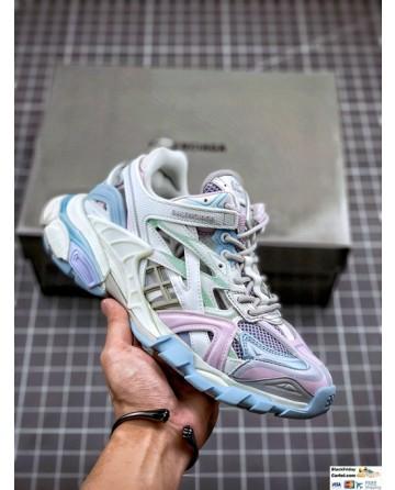 Balenciaga Track 4.0 Sneakers In Multicolor
