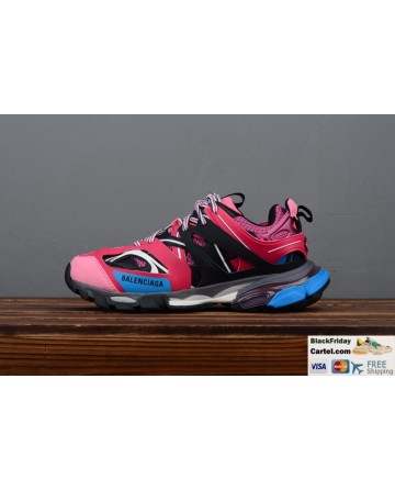 Balenciaga Track 3.0 Sneaker Tess.s.Gomma Pink & Blue