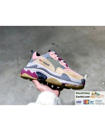 Balenciaga Triple-s Vintage Casual Running Shoes For Men