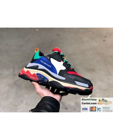 Balenciaga Triple-s Vintage Soprt Shoes For Men