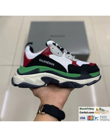 Balenciaga Triple S Vintage TPU Men's Running Shoes