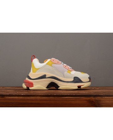 Balenciaga Triple S Vintage TPU Sports Shoes Mixed Color