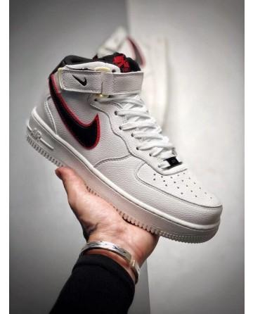 Best Stranger Things X Nike Air Force One Mid 07 Hawkins High White Sneaker
