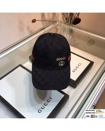 Cool Gucci Black Baseball Cap One Size - Adjustable