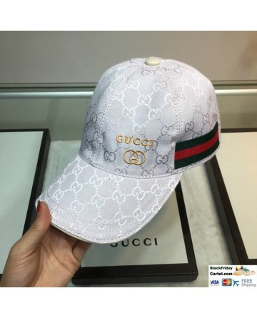 Fashion Gucci Black Baseball Hat One Size - Adjustable