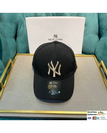 Cool Style New York Yankees Embroidered Baseball Cap Black