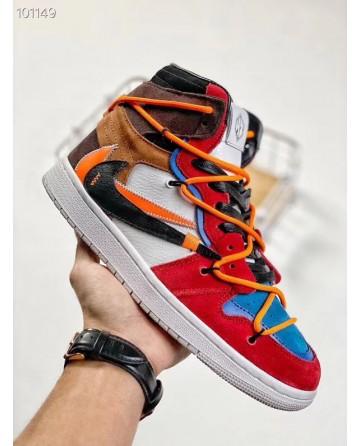 Futura x Off-White x Nike SB Dunk Sneakers Mixed color Premium