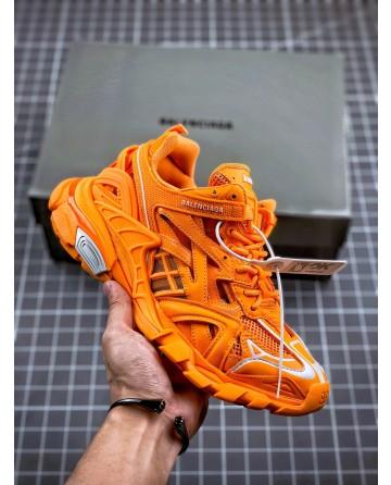 High Quality Balenciaga Track 4.0 Orange Trainers
