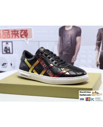 High Quality Burberry 2019 New Black Casual Men's Shoes