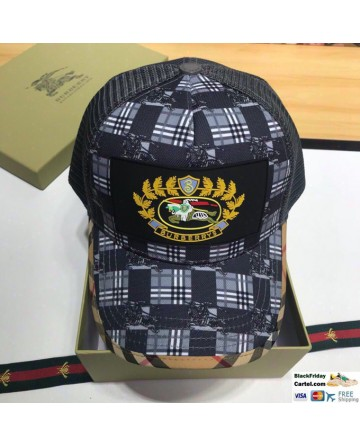 High Quality Burberry War Horse Logo Hat