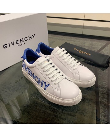 High Quality Givenchy 2019 New Men's White And Blue Casual Shoes