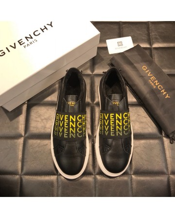 High Quality Givenchy 2018 Winter Black Casual Men's Shoes