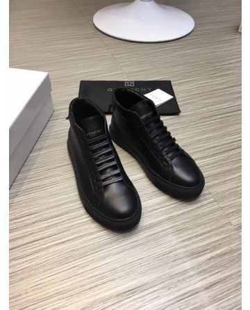 High Quality Givenchy 2019 New Black High top Casual Men's Shoes