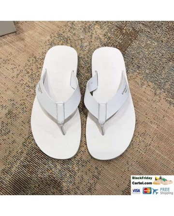 High Quality Givenchy 2019 Spring And Summer New White Men's Flip-flops