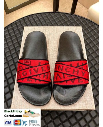 High Quality Givenchy 2019 Men'S Red Sandals