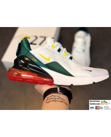 High Quality Nike Air Max 270 Air Cushion Cushioning Sports Running Men's Shoes