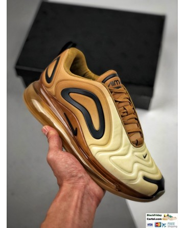 High Quality Nike Air Max 720 Brown Running Shoes