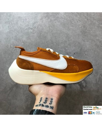 High Quality Nike Moon Racer Brown Sneakers