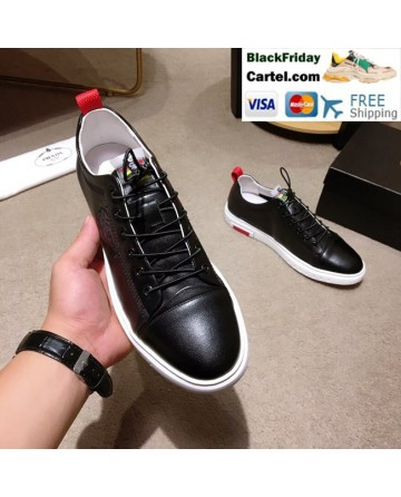 High Quality Prada 2019 New Classic Black Casual Men's Shoes