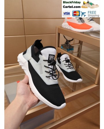 High Quality Prada 2019 New Classic Black Sports Men's Shoes