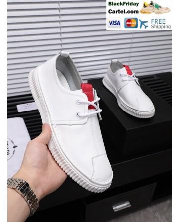 High Quality Prada 2019 New White Casual Men's Shoes