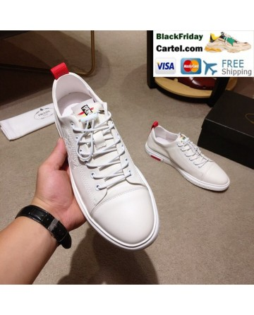 High Quality Prada 2019 New Classic White Casual Men's Shoes