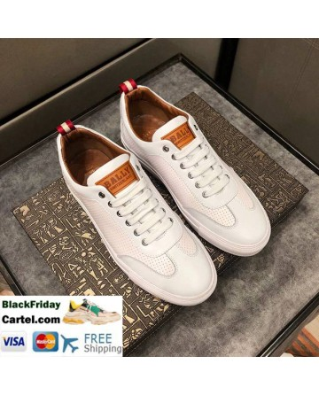 Hight Quality BALLY 2019 New  Men's White Casual Shoes