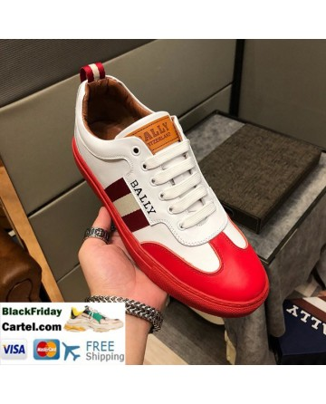 Hight Quality BALLY 2019 New  Men's Red Casual Shoes