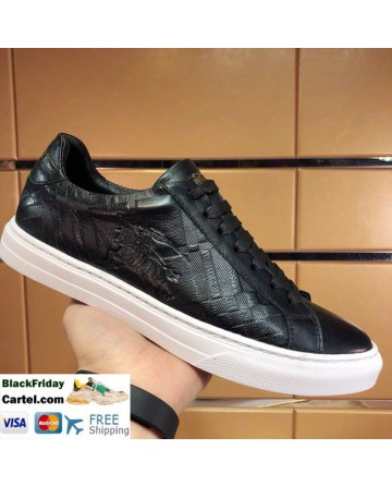 Hight Quality Burberry's Classic Riding Black Casual Shoes