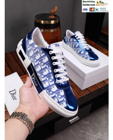 Hight Quality Dior 2019 Blue Casual Men's Shoes