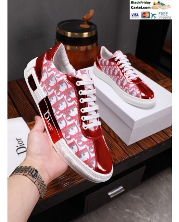 Hight Quality Dior 2019 Red Casual Men's Shoes