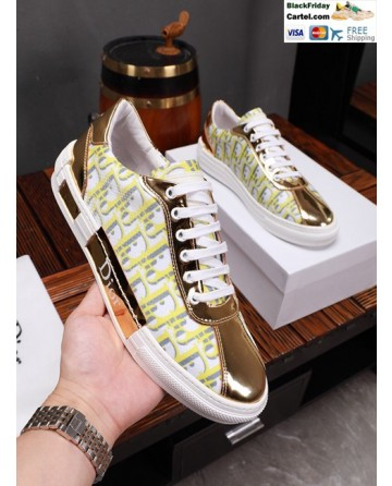 Hight Quality Dior 2019 Yellow Casual Men's Shoes