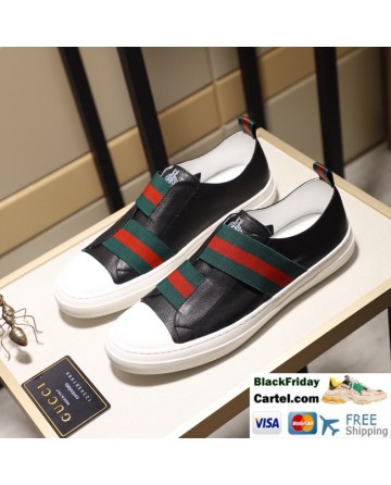 Hight Quality Gucci 2019 Classic Black Casual Men's Shoes