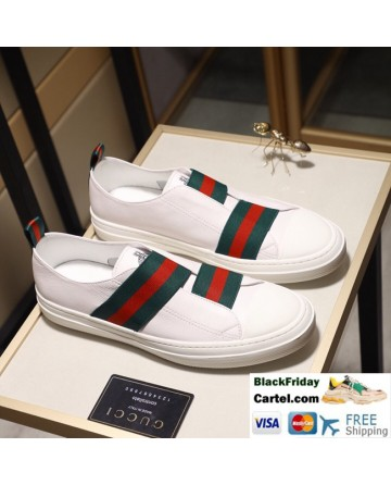 Hight Quality Gucci 2019 Classic White Casual Men's Shoes