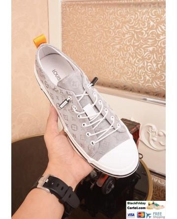 Hight Quality Louis Vuitton 2019 Men's White Casual Shoes