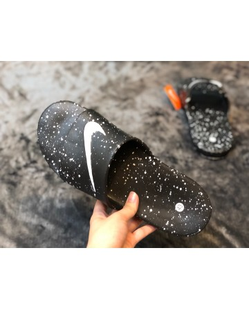 Nike Black Air Cushion Slippers