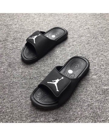 Jordan Magic Sticker Black Slippers