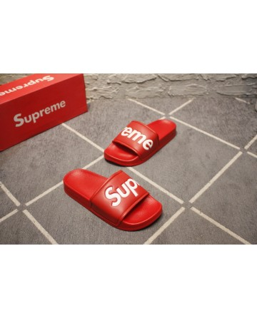 Replica Supreme Top Grdae Red Beach Slippers