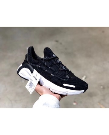 Replica Adidas Yeezy Boost 600 Black Shoes With White Ground