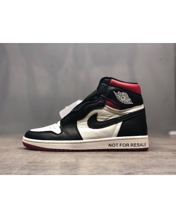 Replica Air Jordan AJ 1 Black&White Running Shoes