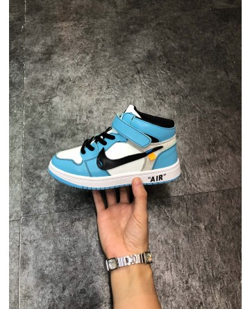 AJ LTD Edition Blue Children Shoes