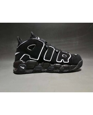 Nike Air More Uptempo X  LV Supreme Black Shoes